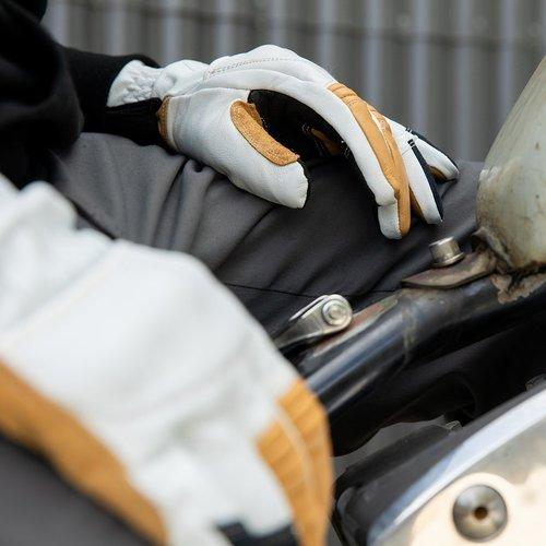 Biltwell Belden Handschoenen - Cement