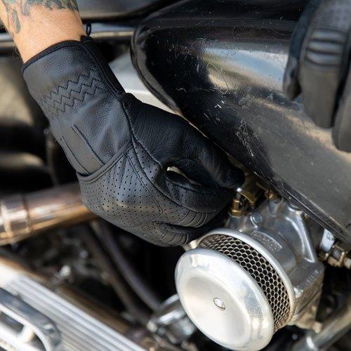 Biltwell Borrego handschoenen - zwart / zwart