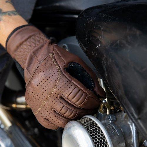 Biltwell Borrego Handschoenen - Chocolade / Zwart