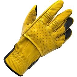 Borrego handschoenen - goud / zwart