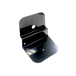Luchtfilterhuis Cover / Accu houder R65 hoog - zwart
