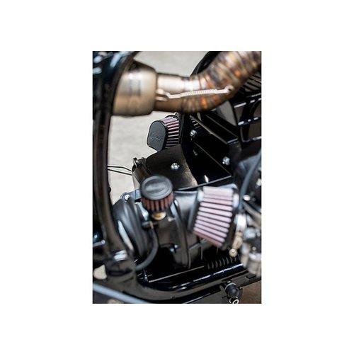 MCU Accu Bak / Luchtfilterhuis Cover BMW blind R80 - zwart