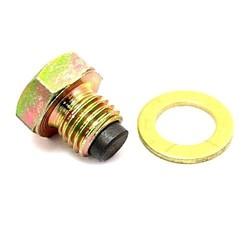 Bouchon magnétique de vidange d'huile M12x1,50 avec bague