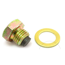 Bouchon de vidange d'huile magnétique M14x1.50 avec rondelle