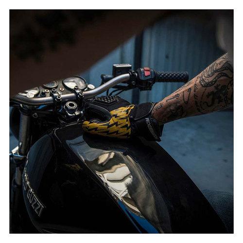 Holy Freedom Saetta Gloves Zwart/Geel