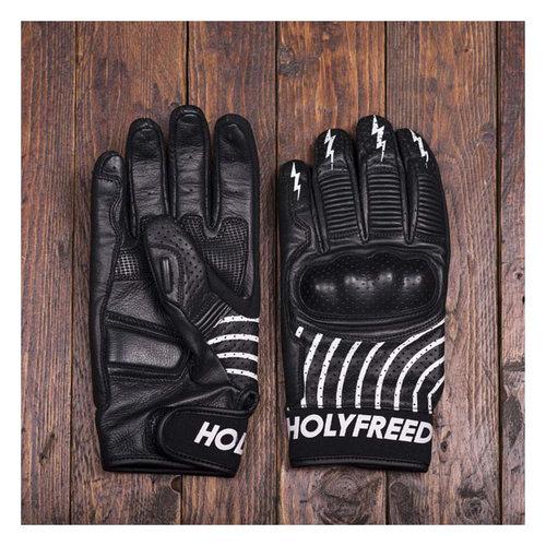 Holy Freedom Ipnotico Handschuhe Schwarz / Weiß