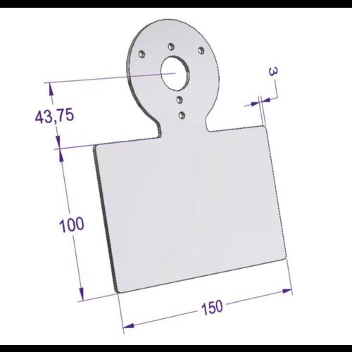 Universal Tachohalter DIY für Motoscope Chronoclassic