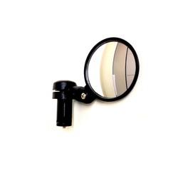 Rétroviseur convexe noir à angle large