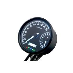 """Velona""""W"""" 80mm Speedometer 200Km/H & 9000Rpm"""