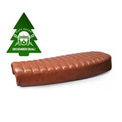 Vintage Brown Flat Brat Seat - Type 3