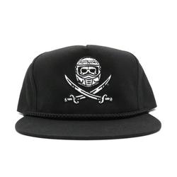 cap surrender snapback black