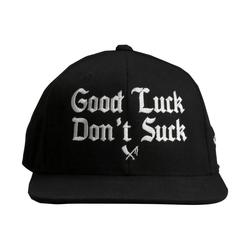 snapback cap Good Luck