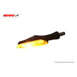 Infinity-F LED zwart/smoke, knipperlicht/positielicht