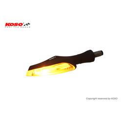 LED-Anzeige Infinity-F, schwarz, Rauchglas, Positionsleuchte vorn