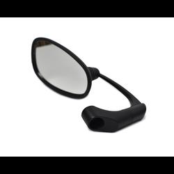 Adjustable Bar end Mirror ABS Black