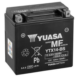 YTX14-BS Wartungsfreie Batterie