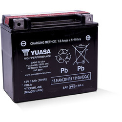 YTX20HL-BS Maintenance Free Battery