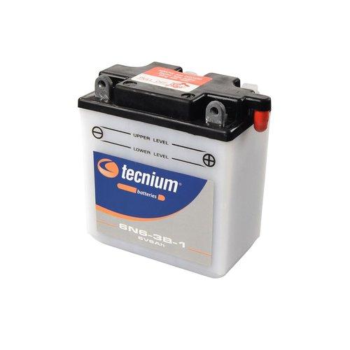 Tecnium 6N6-3B-1 Lood Accu met zuurpakket