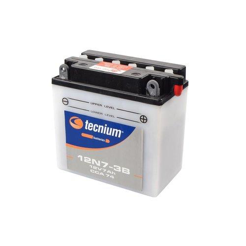 Tecnium 12N7-3B Lood Accu met zuurpakket
