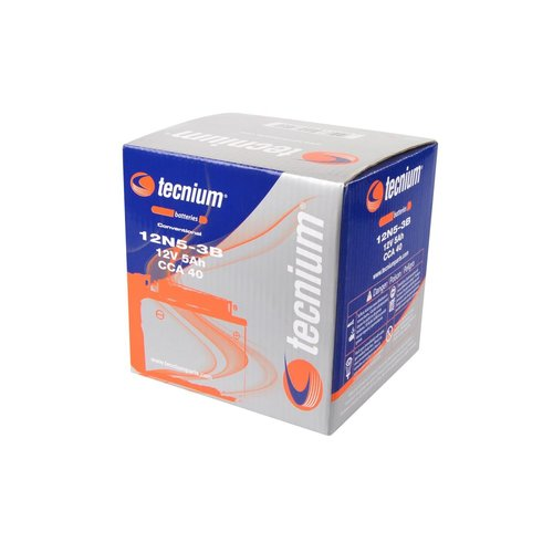Tecnium 12N5.5-3B Lood Accu met zuurpakket