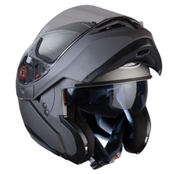 Optimus Matte Black System Helmet