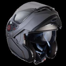 Optimus Matte Black Systemhelm