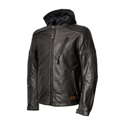 Leather jacket Jagger Brown