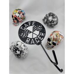 Skull Helmhalter (verschiedene Modelle)