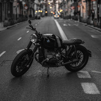 BMW R100 from 1978 By Iñaki Bellver