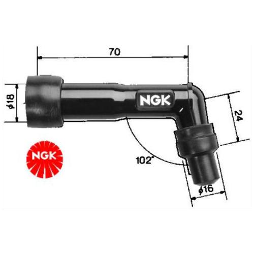 NGK NGK Spark Plug Cap - XD05F