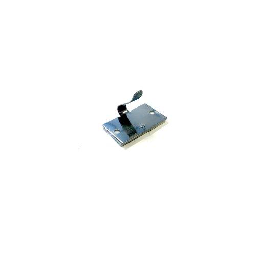 Aluminium kabelklem met plakstrip (minimale bestelhoeveelheid = 10)