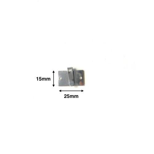 Aluminium Kabelklemme mit Klebeband (Mindestbestellmenge = 10)