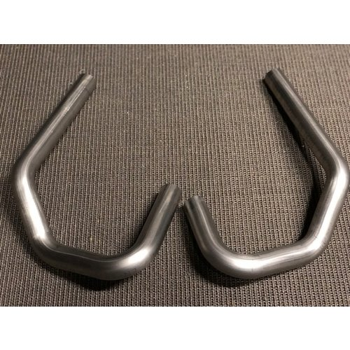 38MM BMW-R header set R2V Titanium