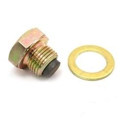 Boulon de vidange d'huile magnétique M14X1.25 avec anneau