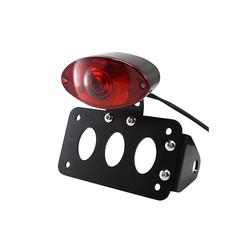 Sidemount + Verlichting Type Oval Black