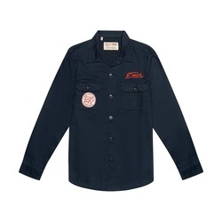 Sea Squalor Shirt Navy