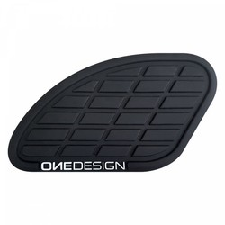 Tank path mat black left and right 17 CM X 9,35 CM (choose your color)