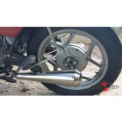 38mm EG-ABE Gunball Endschalldämpfer Satz 1985< BMW R 65, R 80, R 80RT, R 100 RS, RT Monolever