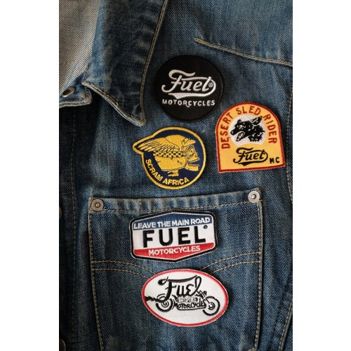 FUEL Bespoke Motorcycles patch