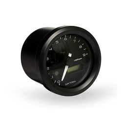 48MM Verona Toerenteller Zwart 9.000 RPM