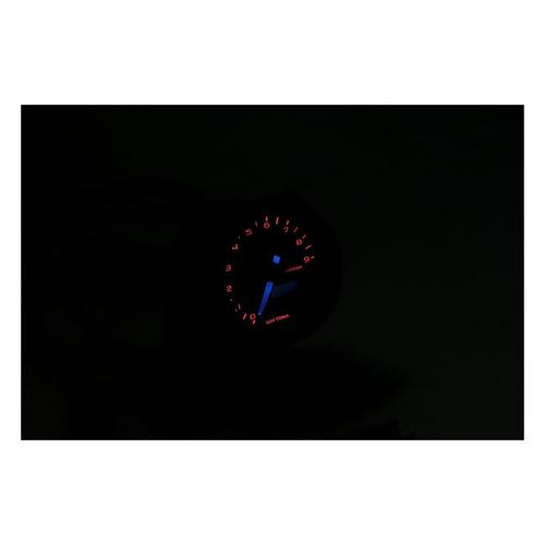 Daytona 48MM Verona Toerenteller Zwart 9.000 RPM