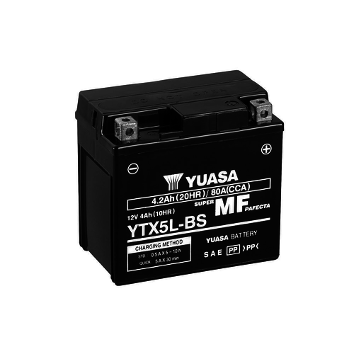 Yuasa YTX5L-BS Maintenance Free Battery