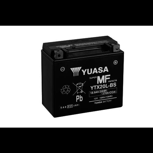 Yuasa YTX20L-BS Maintenance Free Battery