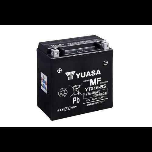 Yuasa YTX16-BS Wartungsfreie Batterie