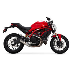 Hi-output slip-on Uitlaatdemper Ducati Scrambler 15-19 / M 797