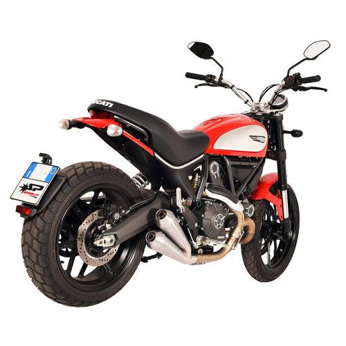 Spark Classic Exhaust Muffler Stainless Steel Ducati Scrambler 803