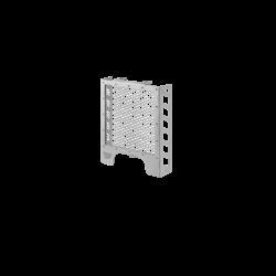 Protection de radiateur pour Royal Enfield Interceptor 650 / Continental GT 650 Noir / Argent