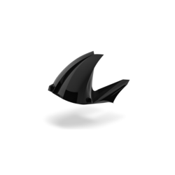 Rear Fender With chain Protector for Aprilia Shiver 750