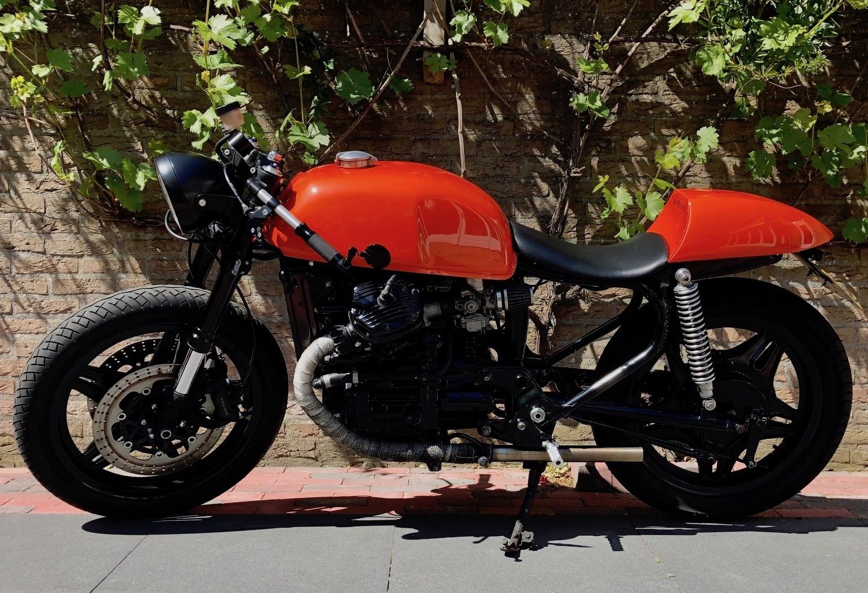 abbastanza Honda CX500 Cafe Racer - CafeRacerWebshop.com EJ46