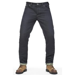 """Greasy"" Denim Broek"